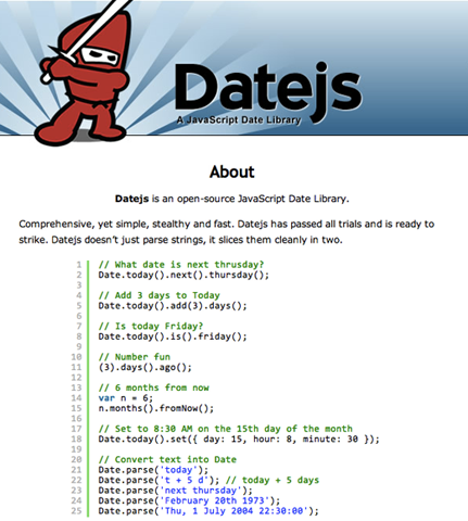 Javascript Date Now